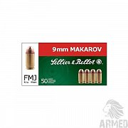 Náboje 9 mm Makarov Sellier & Bellot
